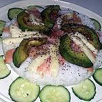 recette Salade de riz japonaise