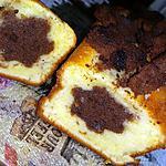 recette Cake au yaourt fleur surprise au chocolat