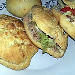 recette Sandwichs pique nique a la pâte magique