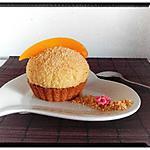 recette mousse ananas mangue sur palet breton noisette