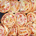 recette Escargots feuilletés au bacon