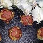 recette Minis tatins de saucisses de Strasbourg