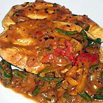 recette Escalope de dinde sauce curry coco