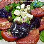 recette Salade de tomates et fromage de brebis