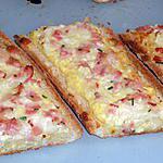 recette Baguettes garnies au bacon