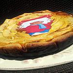 recette Tarte aux pommes et speculoos