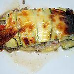 recette Lasagne de courgettes et konjac (compatible dukan)