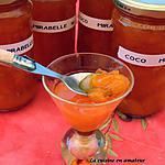 recette Confitures aux mirabelles et sirop de coco