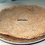 recette Pâte à galettes de blé noir