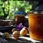 recette CONFITURE DE MIRABELLES AU GINGEMBRE