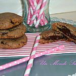 recette Cookies coeur fondant au Nutella