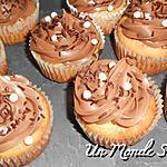 recette Cupcakes ganache kinder