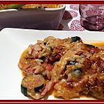 recette Gratin de courgette et d'aubergine