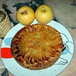 recette tarte aux pommes pistaches