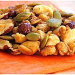 recette CRUNCHY GRANOLA