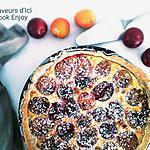recette THERMOMIX : Tarte Abricots Quetsches sur lit d'amandes