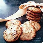 recette Thermomix : Véritable Cookies Chocolat - Raisin - Praliné
