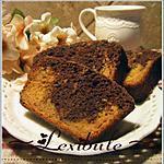 recette Gâteau marbré aux patates douces