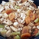 recette TAJINE DE POULET AU MIEL ET AUX ABRICOTS