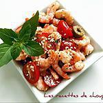 recette Salade de crevettes façon choupette