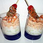recette Verrine concombre aux deux saumons (compatible dukan)