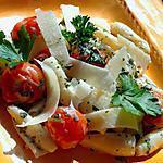 recette Pâtes coquillage aux tomates cerises