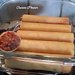 recette Cannelloni au thon saucetomate