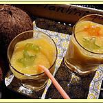 recette Smothie mangue eau de coco