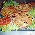 recette Mini quiches saumon fumée et petits légumes