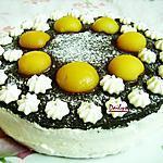 recette Gâteau chocolat pêche