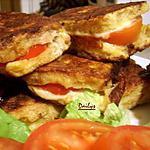 recette Sandwichs à la Mozzarella