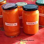 recette Coulis aux tomates, carottes et origan