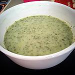 recette Velouté de fanes de radis