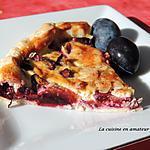 recette Tarte alsacienne aux quetsches