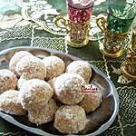 recette Boules De Neige/Noix De Coco