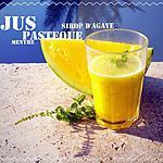 recette Jus Pastèque - Menthe - Sirop d'Agave (thermomix ou pas)