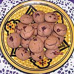 recette Cookies tous choco