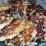 recette Galettes aux flocons d'avoines et aux courgettes