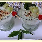recette Soupe de concombre à la menthe et au fromage blanc