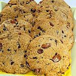 recette Cookies aux amandes et pépites de chocolat