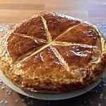 recette Délicieuse galette à la frangipane