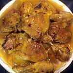 recette Tajine de poulet au cookeo