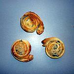 recette Feuilletés apéritif au saint agur