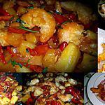 recette Crevettes Sautées Sauce Aigre Douce