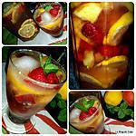 recette Boisson d'été aux saveurs fruitées