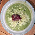 recette Velouté de courgettes au kiri