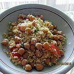 recette Salade de couscous au pois chiche
