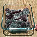 recette Pâte de fruits framboise