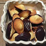 recette Madeleine et sa coque chocolat