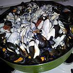 recette Moules au chorizo sauce au mascarpone-gorgonzola